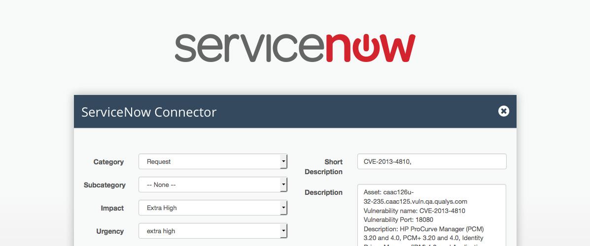 Servicenow Integration Kenna Faq